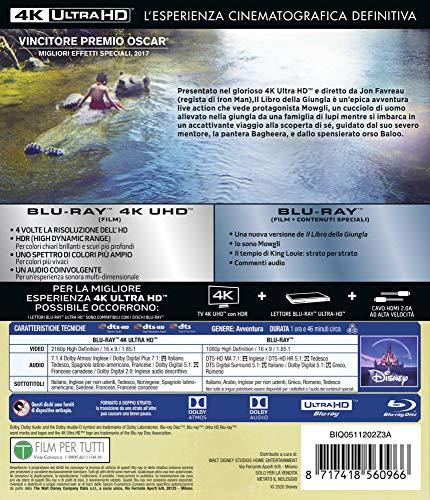 Libro Della Giungla 4K (2 Blu Ray)