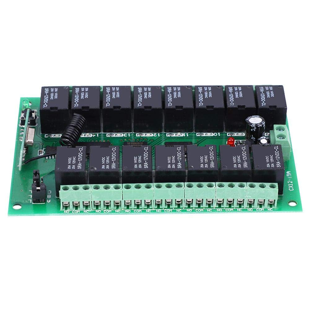 15 Channel Seattle Mall Flexible Many popular brands 12V 10A Wireless Transmitter Control Remote