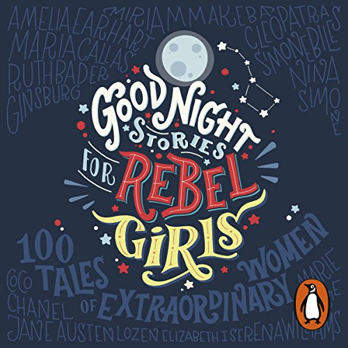 『Good Night Stories for Rebel Girls』のカバーアート