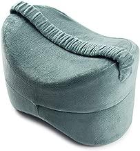 HDL Oreiller de Genoux Le Soulagement de Sciatique Oreiller de Jambe de Mousse de M/émoire|Coussin pour Genoux Dormir|Relax Genoux Coussin Orthopedique Lavable