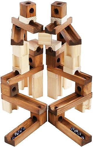 Las ventas en línea ahorran un 70%. AMZ BCS Woodiness Orbit Rolling Rolling Rolling Beads Juguete Montar Pipeline Puzzle Bloques de construcción Juego de Montaña Rusa Modelo de construcción de Bricolaje, para Niños Mayores de 3 años (60 Piezas)  edición limitada en caliente