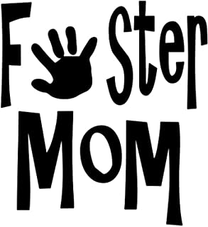 A Good Decals USA Foster Mom - Vinyl Decal Sticker 5
