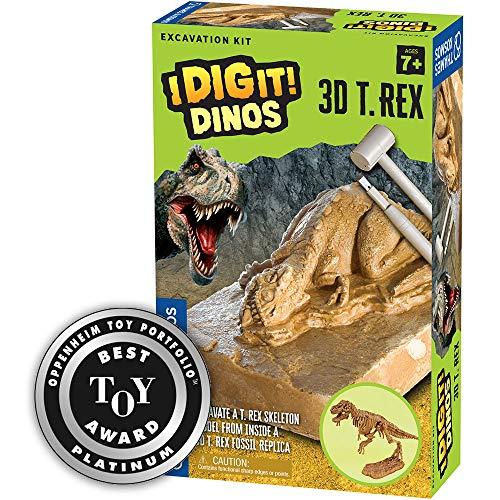 Thames & Kosmos 657550 I Dig It! Dinos 3D T. Rex Excavation   Science Kit   3D Tyrannosaurus Rex Dinosaur Skeleton   Paleontology   Dinosaur Toy   Oppenheim Toy Portfolio Platinum Award Winner