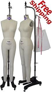 PGM-Pro 603 - Maroon Dressmaker Form with Hip