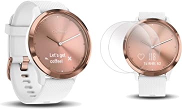 PlayBetter Garmin vivomove HR Sport (Rose Gold - Small/Medium) Hybrid Smartwatch Screen Protectors (x4)   Activity, Sleep & Stress Tracking, On-Wrist Heart Rate