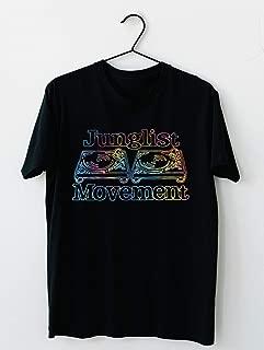 Junglist Movement - Tye Dye Sketch 91 T shirt Hoodie for Men Women Unisex