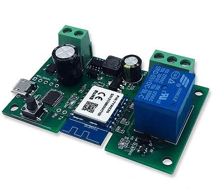 AERZETIX Interruttore a levetta nero DPST OFF-ON 10A//250V pulsante a bilanciere switch 2 posizioni C10756