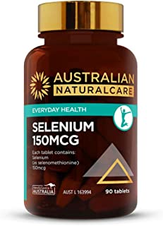 Australian NaturalCare - Everyday Health - 150mcg Selenium Tablets (90 Count)