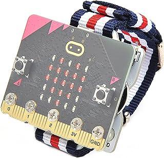 Elecfreaks microbit Smart Coding Kit for Kids BBC Micro:bit DIY Programmable Watch, Wearable microbit Extension Board(Wea...
