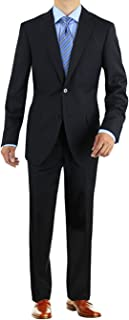Men's Two Button 2 Piece Avant Garde Modern Fit Suit
