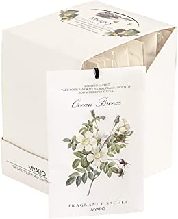 MYARO 12 Packs Lavender Scented Sachets for Drawer and Closet (D-Ocean)