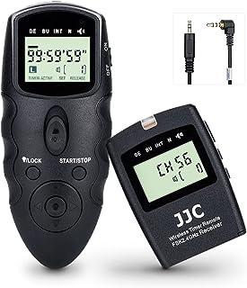 JJC Wyzwalanie migawki interwalometr awaryjny pilot zdalnego sterowania pasuje do Fujifilm X-T200 X-S10, Pentax K-70 KP lu...