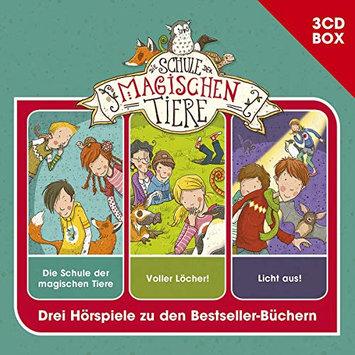 Die Schule der magischen Tiere – 3CD Hörspielbox Vol. 1 – Folge 01-03