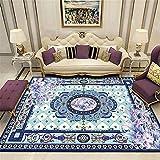 alfombras recibidor Dormitorio de la Alfombra Azul Dormitorio decoración del Palacio del Palacio rectángulo Decora el Restaurante Alfombra de habitación de niña 200X300CM 6ft 6.7' X9ft 10.1'