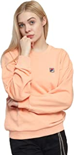 Fila Sport Sweatshirt for Women, Size, Salmon Pink