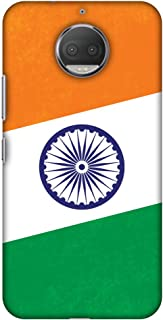 Motorola Moto G5s Plus XT1803 Case, Premium Handcrafted Designer Hard Shell Snap On Case Shockproof Printed Back Cover for Motorola Moto G5s Plus XT1803 - One India