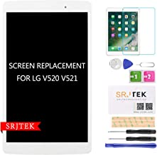 LCD Screen Replacement for LG G Pad 3 8.0 V521 V525 V521WG Display Touch Digitizer Panel Full Assembly White