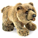 Folkmanis Grizzly Bear Hand Puppet Light Brown, 1 EA