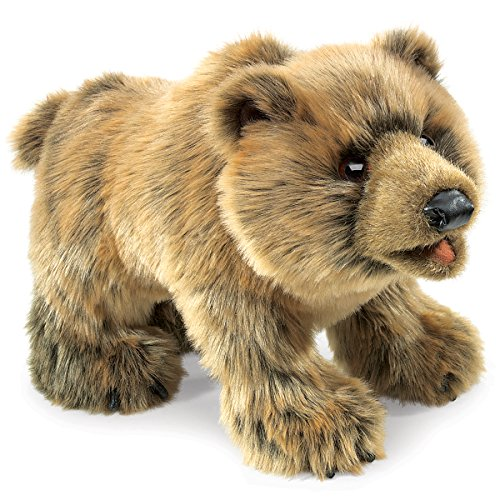 Folkmanis Marionnette Grizzly Bear