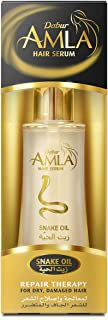 Dabur Amla Serum; Repairs and restructures hair ; Enriched with Amla Vita defense system; Rosemary oil, Jojoba Oil; 50 ml
