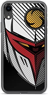 iPhone 6 Plus/6s Plus Case Anti-Scratch Japanese Comic Transparent Cases Cover Tekkaman Anime & Manga Graphic Novels Crystal Clear