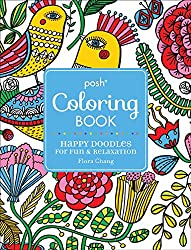 Posh Coloring Book Happy Doodles Paisley Designs
