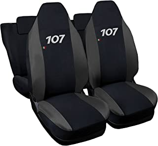 Lupex Shop Seat Covers, Black/Blue