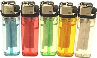 Classic Disposable Cigarette Lighter, 5 Pack