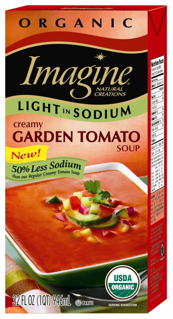 Imagine Organic Light in Sodium Free shipping anywhere the Max 54% OFF nation Soup Tomato 32 Creamy Garden