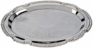 Best oval silver plated tray Reviews