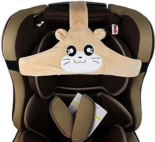 Kindersitz Kopf Halter Autositz Befestigung zum Schutz der Sicherheit von Kindersitzen 2PCS Biluer Baby Autositz Kopfband Einstellbare Kopfband Autositz Kopfst/ütze f/ür Baby Autositz