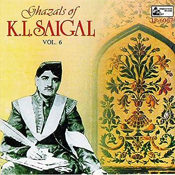 Ghazals Of K. L. Saigal - Vol-6