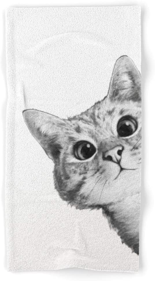 Society6 Sneaky Cat Regular dealer by Laura Graves on - Towel Hand Ranking TOP19