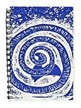 storeindya Hardcover Executive Spiral Bound Notebook Journal Diary with Eco Friendly 100 Pages (Zodiac Collection) 8