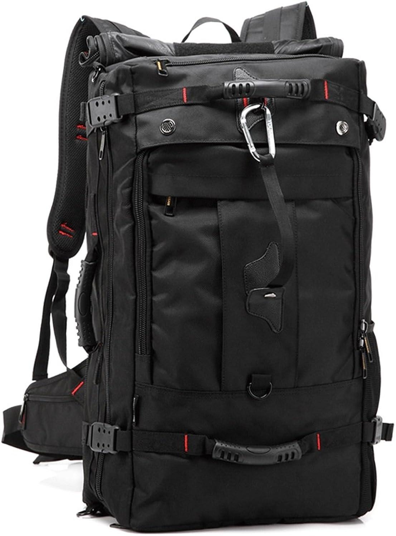 HM3287 Reisen Bergsteigen Tasche, multifunktionale Outdoor-Fitness-Camping-Rucksack, Super-Capacity-Laptop-Rucksack, Super-Capacity-Laptop-Rucksack, Super-Capacity-Laptop-Rucksack, Unisex-Wanderrucksack, schwarz B079BQ5S16  Stabile Qualität 36a834