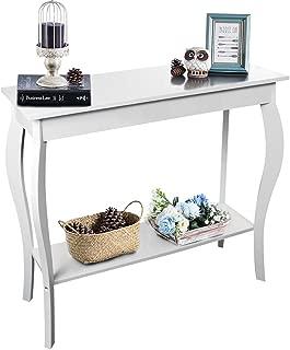 ChooChoo Narrow Console Table, Silm Entryway Table, Wood Sofa Table for Entryway Hallway, Easy Assembly