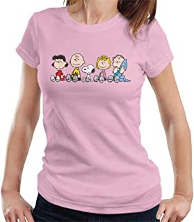 Peanuts The Gang Sit Down Women's T-Shirt