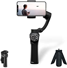[Official Store] Snoppa Atom a Pocket Sized 3 axis Smartphone Handheld Gimbal Stabilizer w/Focus Pull & Zoom for iPhone Xs Max Xr X 8 Plus 7 6 SE Android Smartphone Samsung Galaxy S9+ S9 S8+ S8 S7