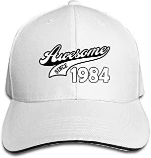 Awesome Since 1984 Baseball Cap By Cnlowter