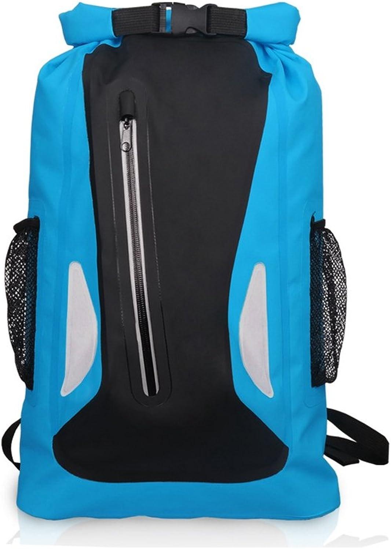 BERTERI Waterproof Dry Bag, 25L Outdoor Drifting Beach Bucket Bag for Boating, Kayaking, Fishing, Rafting, Swimming,Floating, Rafting, Fishing and Camping
