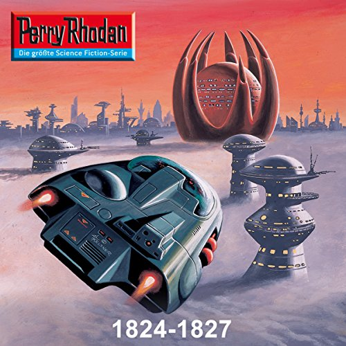 Edition Thoregon: Perry Rhodan 1824-1827 Titelbild