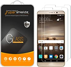 Supershieldz (2 Pack) for Huawei Mate 9 Tempered Glass Screen Protector Anti Scratch, Bubble Free