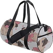 Puppy Dog Sweet Pet Fashion Decor Custom Multi Lightweight Large Yoga Gym Totes Handbag Travel Canvas Duffel Bags With Shoulder Crossbody Fitness Sport Luggage For Boy Girl Men Women