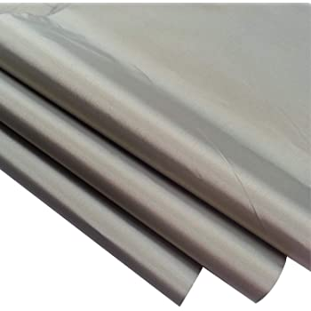 Cyber Faraday Fabric RFID Shielding Nickel Copper Rip-Stop with Conductive Adhesive Roll 50 x 3 Signal Blocking Material