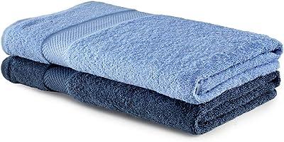 BIANCA 100% Cotton Egyptian Bath Towel (Set of 2)