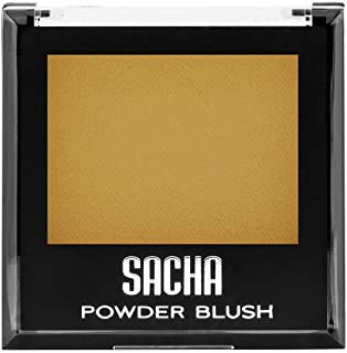 Bronzer by Sacha Cosmetics, Best Bronzing Face Powder Blush Makeup to be used as a Highlighter or for Strobing, 0.27 oz, Radiant Glow