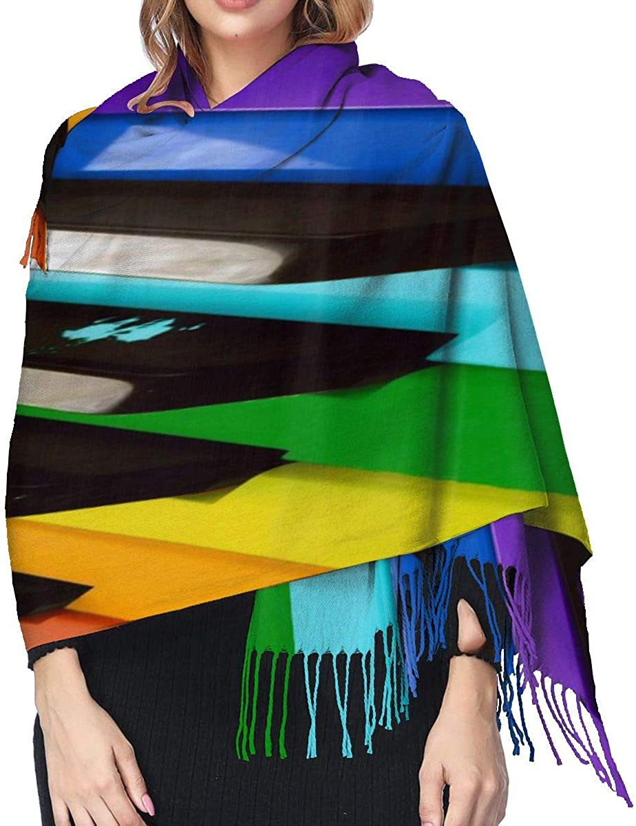 Large Scarf for Women Soft Silky Pashmina shawls and Wraps Neck Warmer Blankets hair Scarfs Half Face Mask