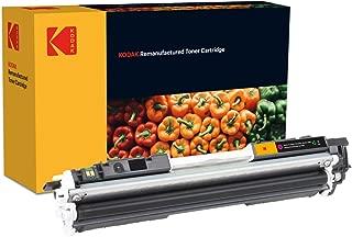 Kodak 柯达 Supplies 185H031204 墨盒 1000 页 黄色 适用于 Hewlett Packard CLJCP1025 兼容 CE312A/126A/4367B002/729Y