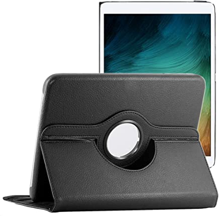 ebestStar - Compatible Coque Samsung Galaxy Tab 4 10.1 SM-T530, T533 T531 T535 Housse Protection Etui PU Cuir Support Rotatif 360 + Stylet, Noir [Appareil: 243.4 x 176.4 x 8mm, 10.1'']