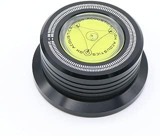 3 in 1 Vinyl Record Clamp Audio LP Disc Stabilizer Stroboscope Gradienter Turntable HIFI Black